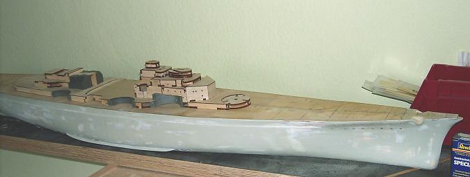 redfort´s Hachette- Bismarck in 1:200 - die unvollendete ! Pic01011
