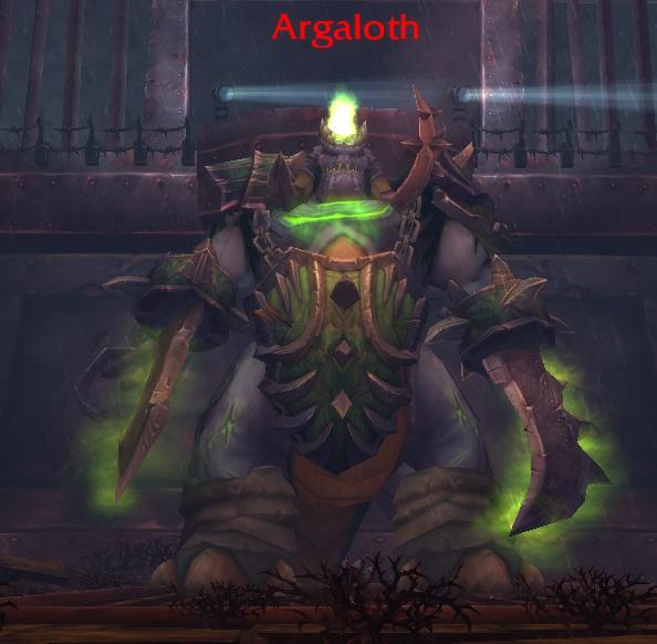 Boss 1 : ARGALOTH Wow_ba11