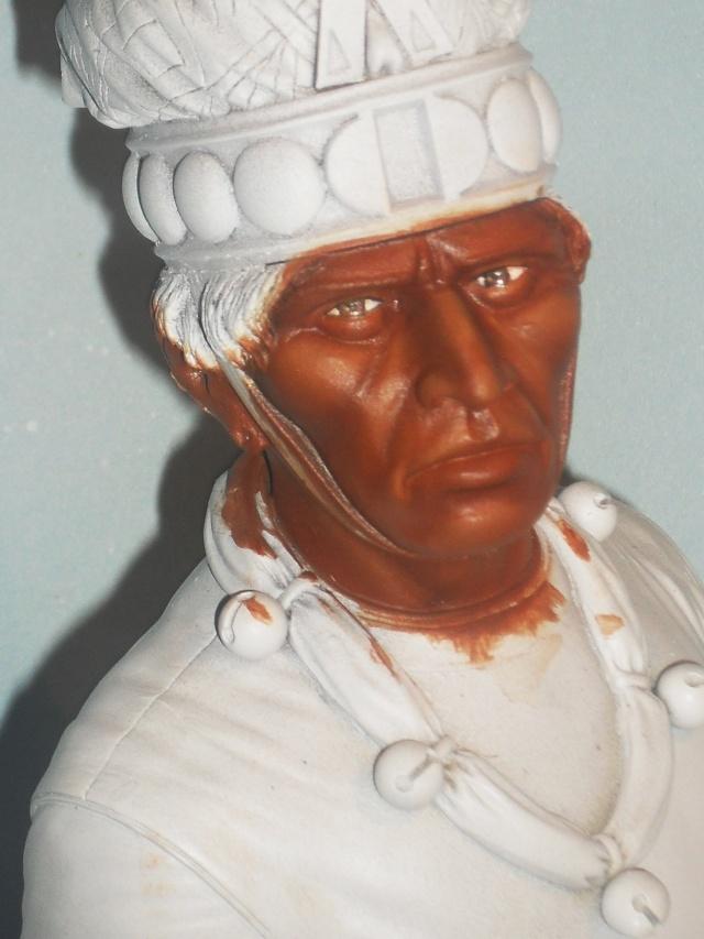 Zapotec warlord à l'huile Chef_m10