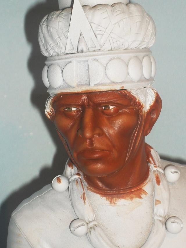 Zapotec warlord à l'huile Chef_m11