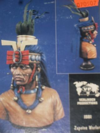 Zapotec warlord à l'huile Zapote11