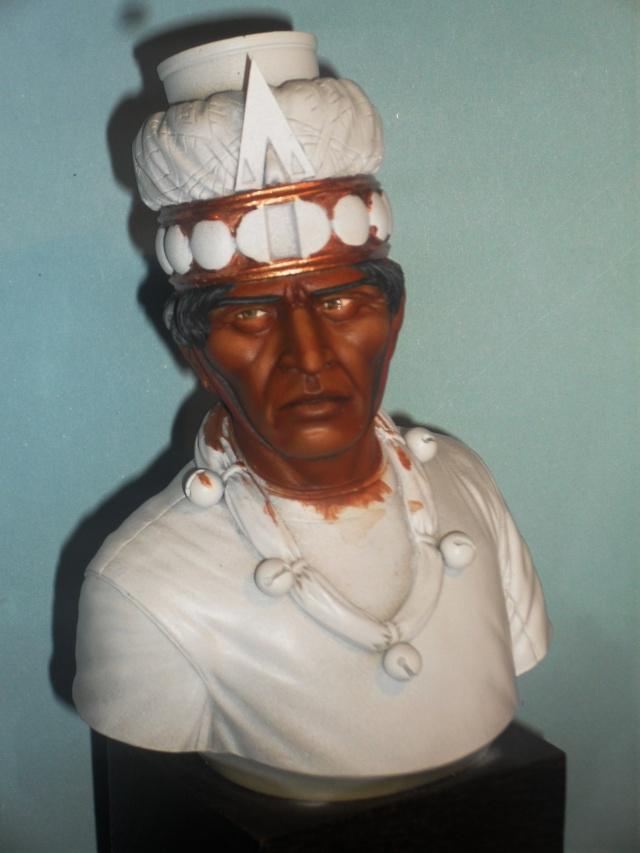 Zapotec warlord à l'huile Zapote15
