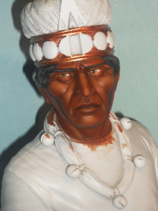 Zapotec warlord à l'huile Zapote16