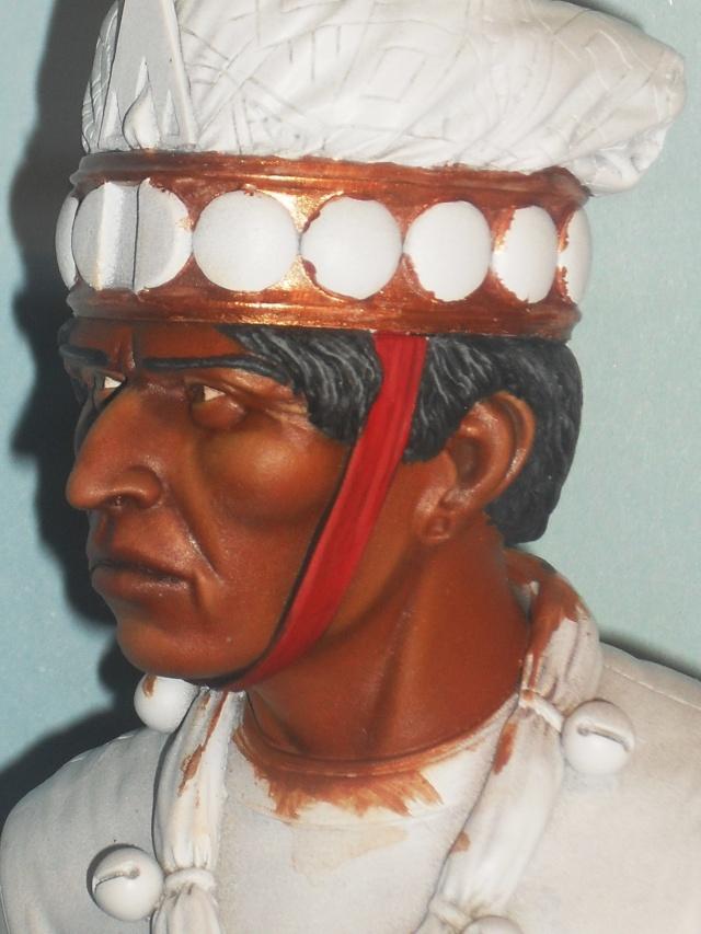 Zapotec warlord à l'huile Zapote17