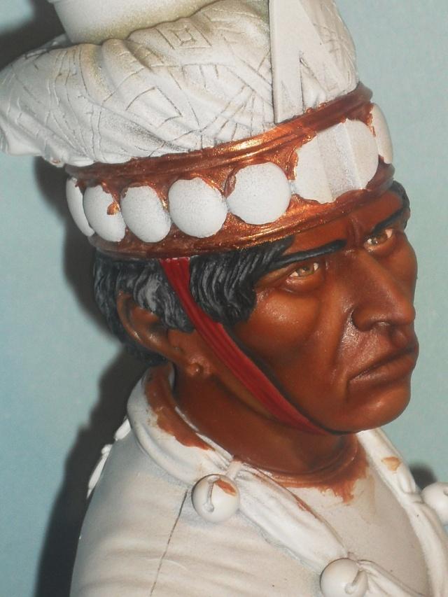 Zapotec warlord à l'huile Zapote18