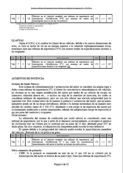 LEGISLACIÓN ESPAÑA REFORMA VEHICULO M1 Tuning13