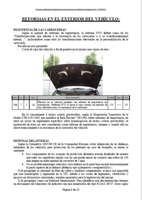 LEGISLACIÓN ESPAÑA REFORMA VEHICULO M1 Tuning15