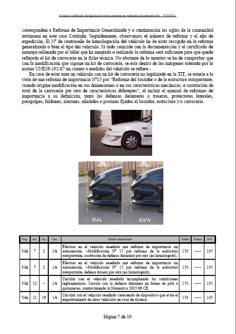 LEGISLACIÓN ESPAÑA REFORMA VEHICULO M1 Tuning16
