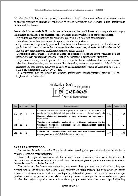 LEGISLACIÓN ESPAÑA REFORMA VEHICULO M1 Tuning19