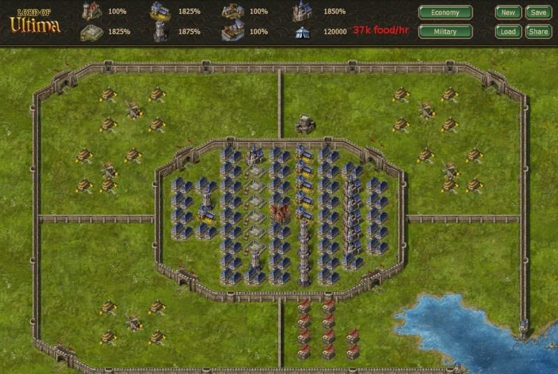 Efficient Military Layout Milita10