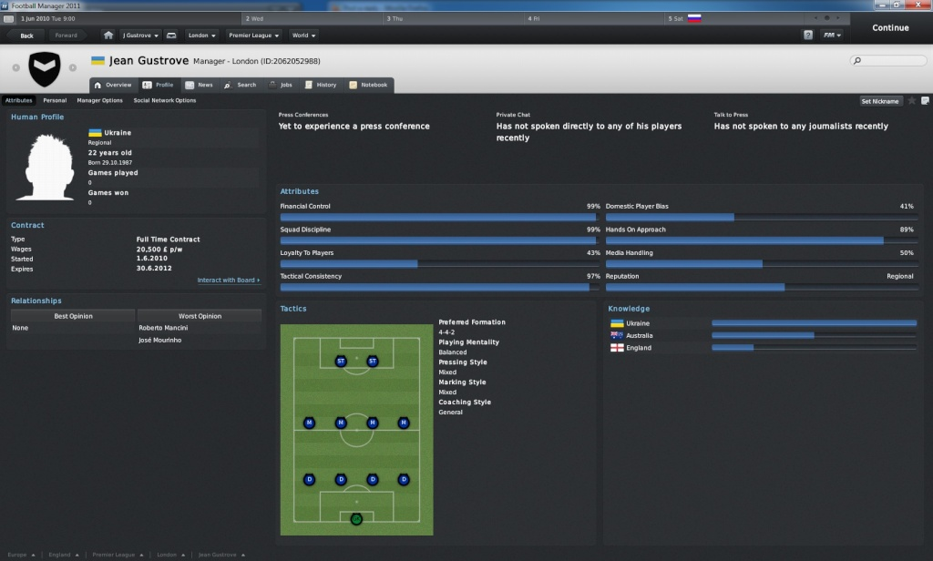 Football Manager 2011: van helsing's newest legacy Jean_g10