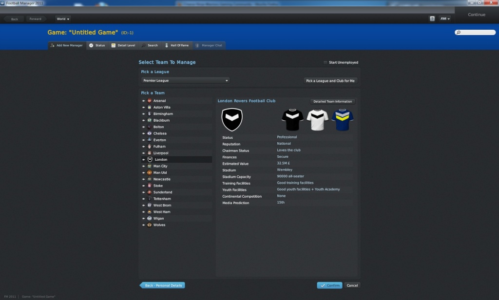 Football Manager 2011: van helsing's newest legacy Team_c11