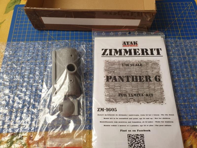 W.I.P. Panther Ausf G Tamiya By Rock63 20191227