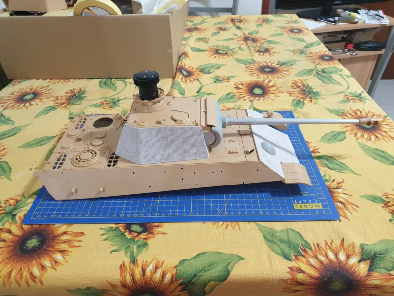 W.I.P. Panther Ausf G Tamiya Number Two By Admin CPT America 20200261