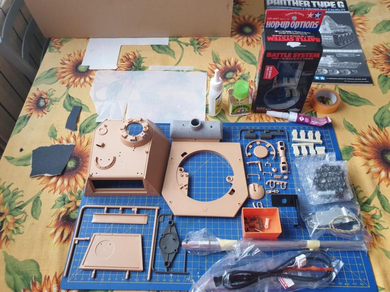 W.I.P. Panther Ausf G Tamiya By Rock63 20200265