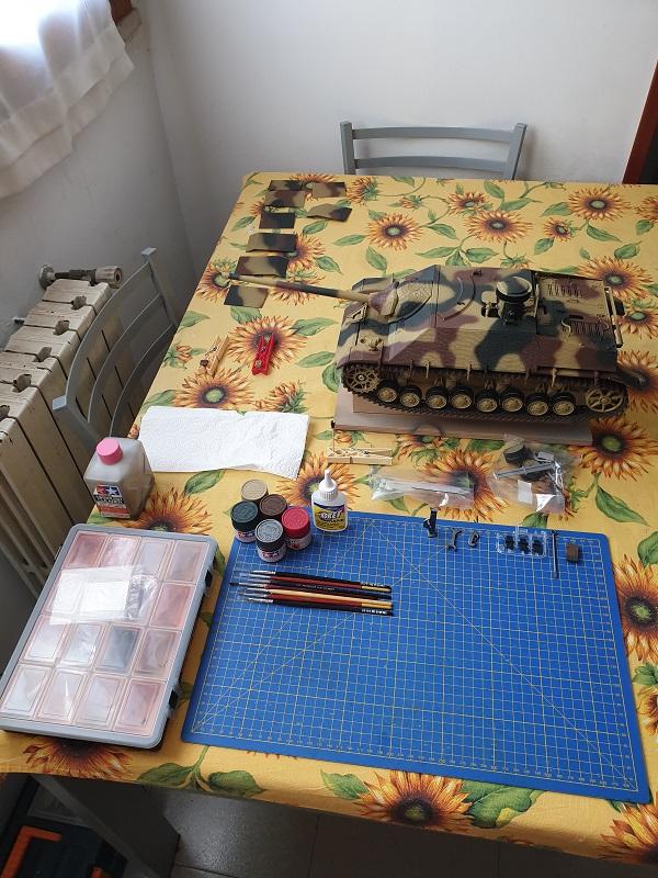W.I.P. Jadpanzer IV L70 Tamiya by MadMax 6911