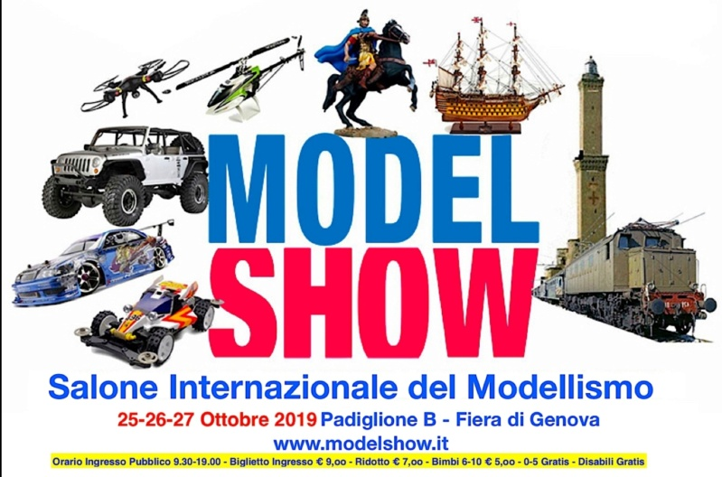 Model Show del 25-26-27 Ottobre 2019 alla Fiera di Genova. Screen10