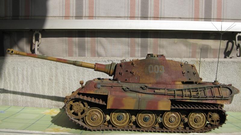 King Tiger Tamiya di Capitan America Tank_t10
