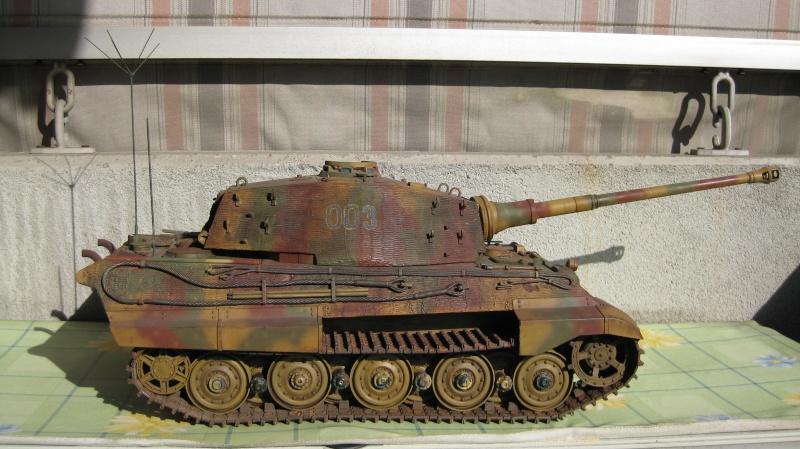 King Tiger Tamiya di Capitan America Tank_t11