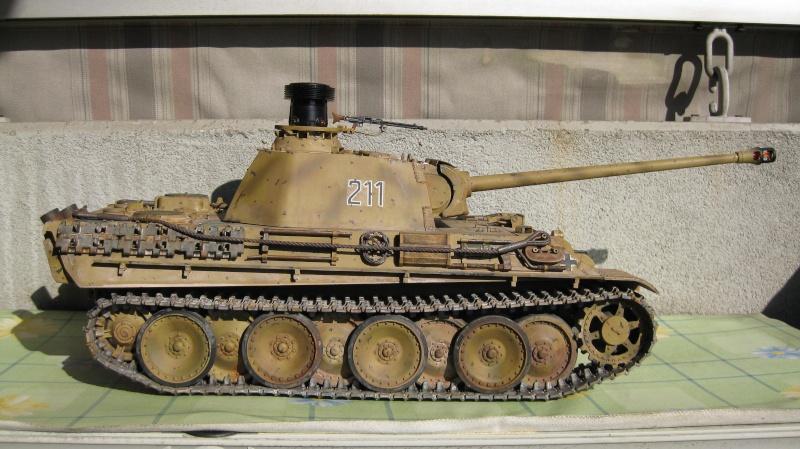Panther G Tamiya di Capitan America Tank_t15