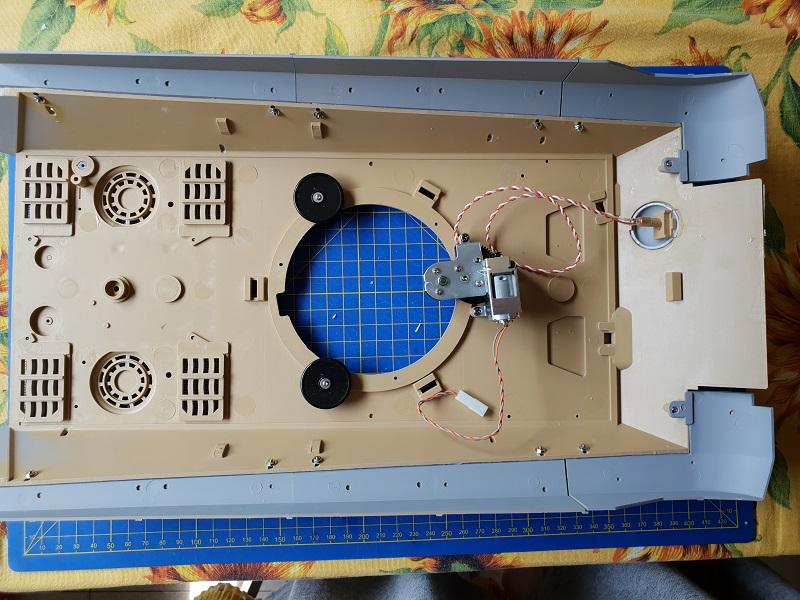 W.I.P King Tiger Tamiya full optional Kit di RegaHill Tb04310