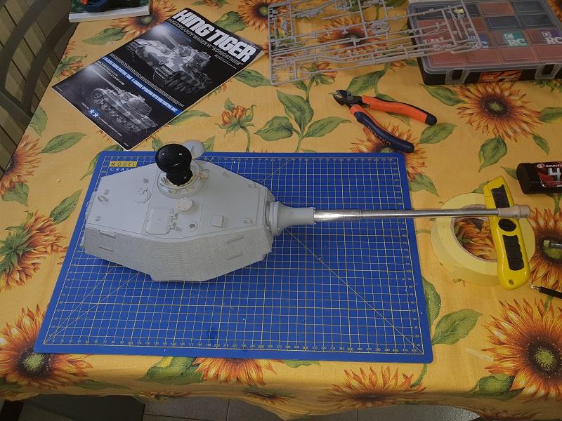 W.I.P King Tiger Tamiya full optional Kit di RegaHill Tb05210