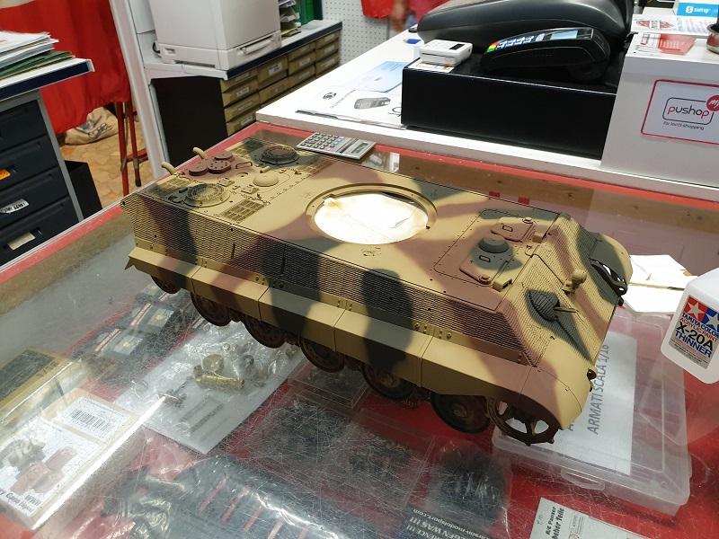 W.I.P King Tiger Tamiya full optional Kit di RegaHill Tb05810