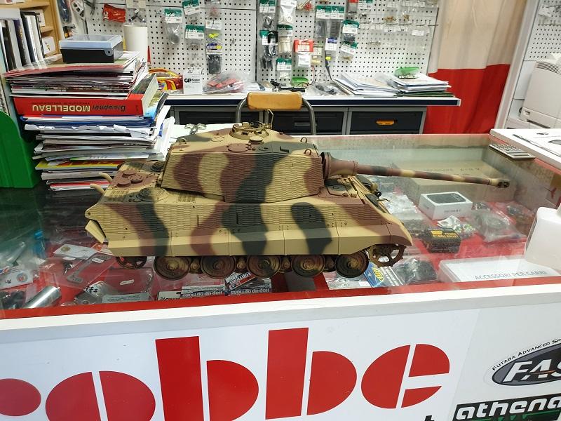 W.I.P King Tiger Tamiya full optional Kit di RegaHill Tb06010