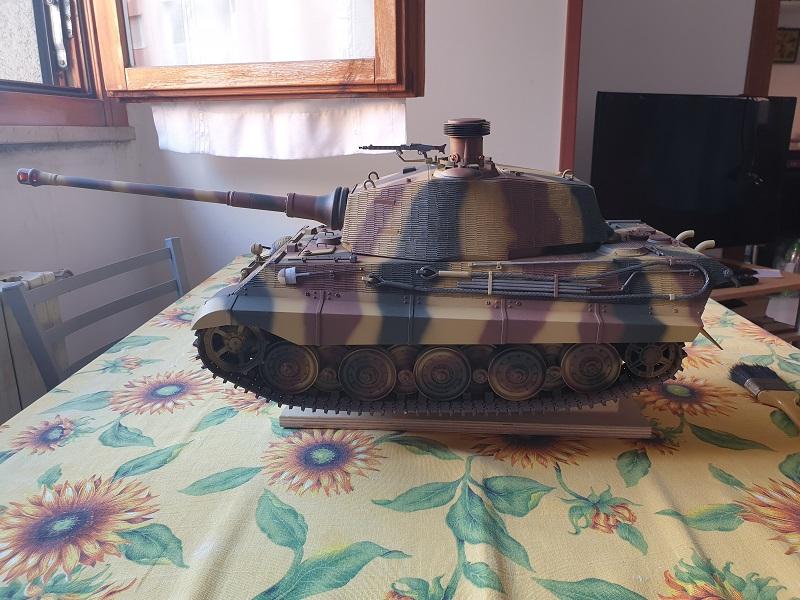W.I.P King Tiger Tamiya full optional Kit di RegaHill Tb07010