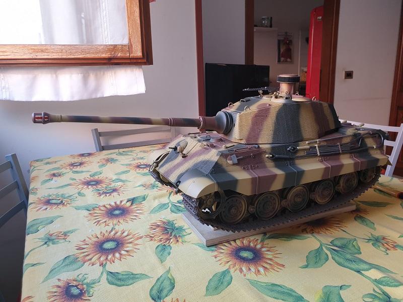 W.I.P King Tiger Tamiya full optional Kit di RegaHill Tb07110