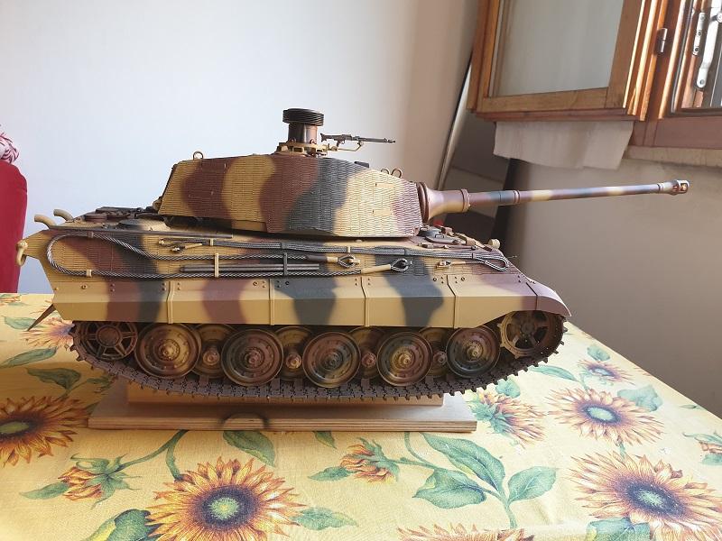 W.I.P King Tiger Tamiya full optional Kit di RegaHill Tb07210