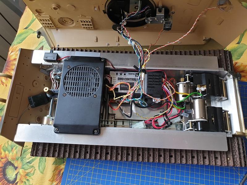 W.I.P King Tiger Tamiya full optional Kit di RegaHill Tb07410