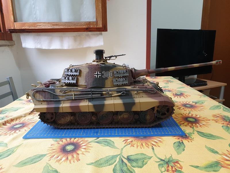 W.I.P King Tiger Tamiya full optional Kit di RegaHill Tb07710