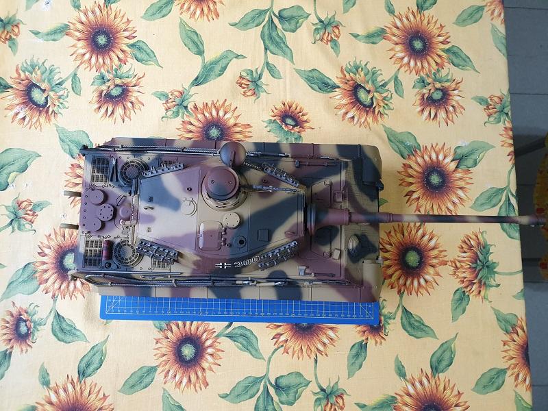 W.I.P King Tiger Tamiya full optional Kit di RegaHill Tb07810