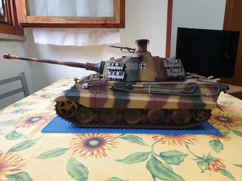 W.I.P King Tiger Tamiya full optional Kit di RegaHill Tb07910