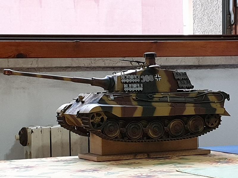 W.I.P King Tiger Tamiya full optional Kit di RegaHill Tb08110