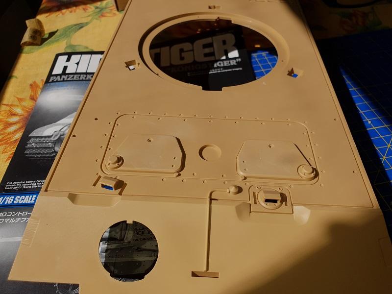 W.I.P King Tiger Tamiya full optional Kit di RegaHill Tb710