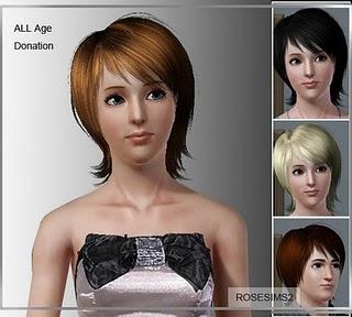 Rose Sims Hair Set 001-2 Hairse11
