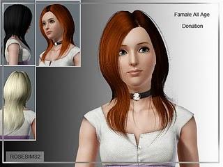 Rose Sims Hair Set 001-3 Hairse12