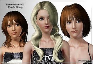 Rose Sims Hair Set 003-1 Hairse15