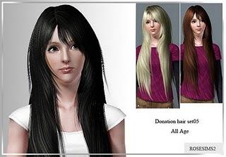Rose Sims Hair Set 005-1 Rosesi12