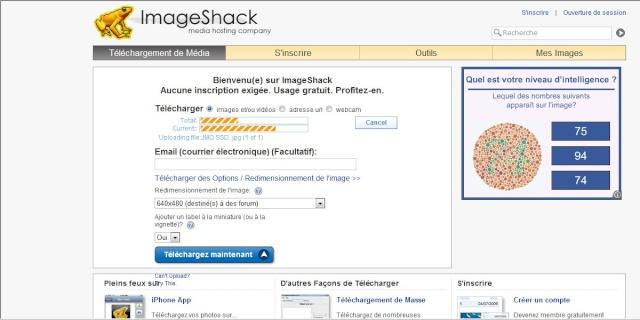 Héberger une image avec Imageshack Recher18
