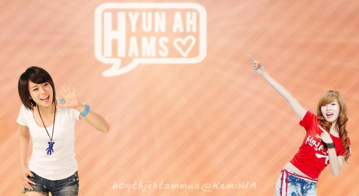 [KamiNIA]Hyun Hams ♥ 2H couple ♥♥♥ Hyunha10