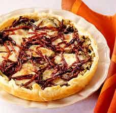 Tortino di scarola e pomodori secchi Tortin11