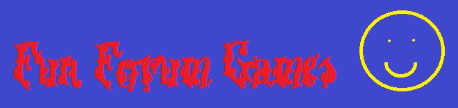 Fun Forum Games