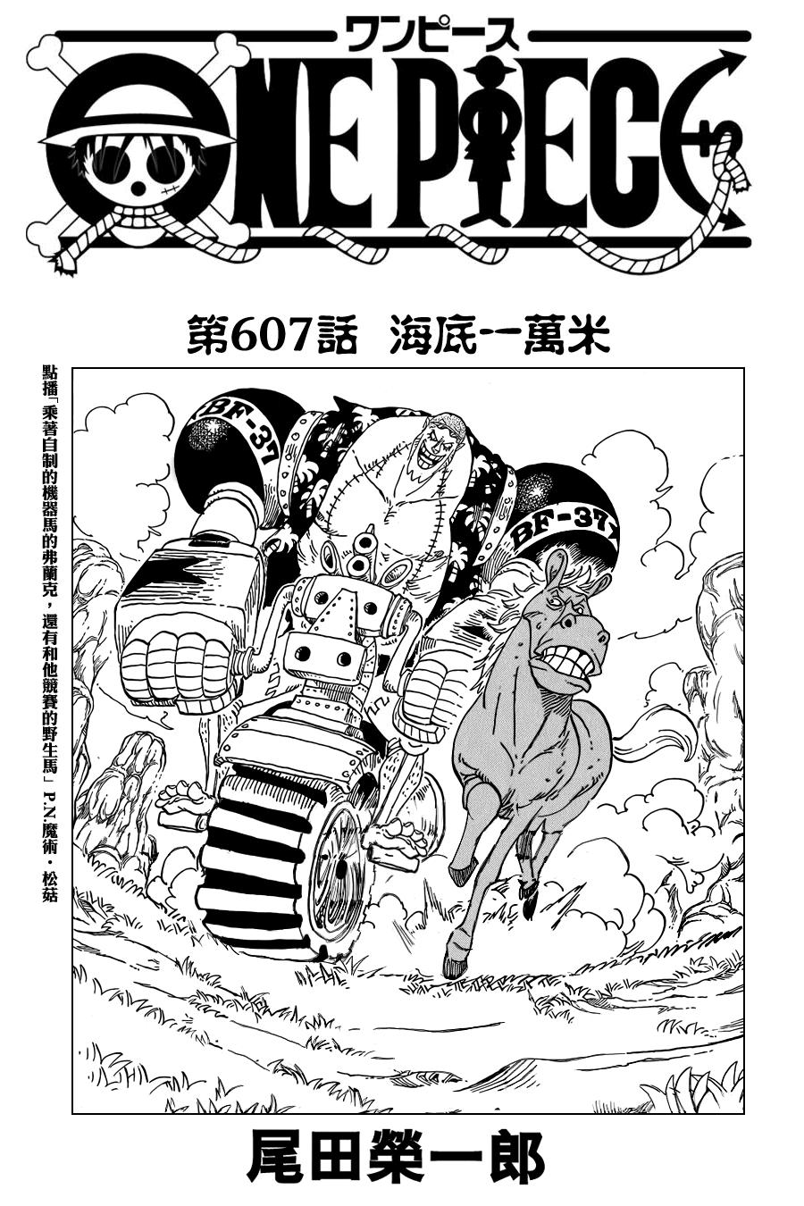 One Piece Manga 607 Spoiler Pics 0113