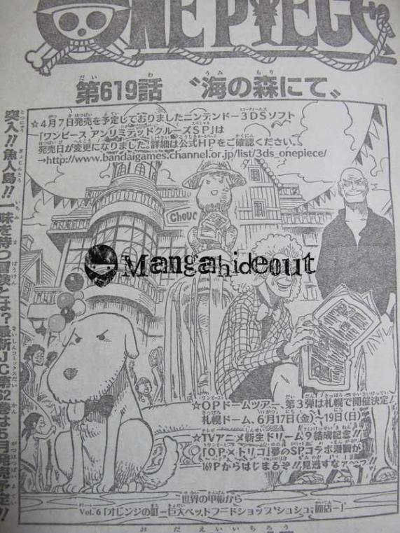 One Piece Manga 619 Spoiler Pics 0116