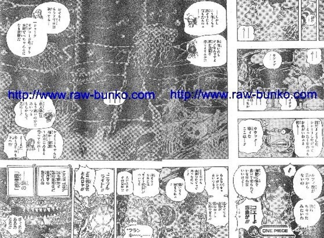 One Piece Manga 605 Spoiler Pics 1910