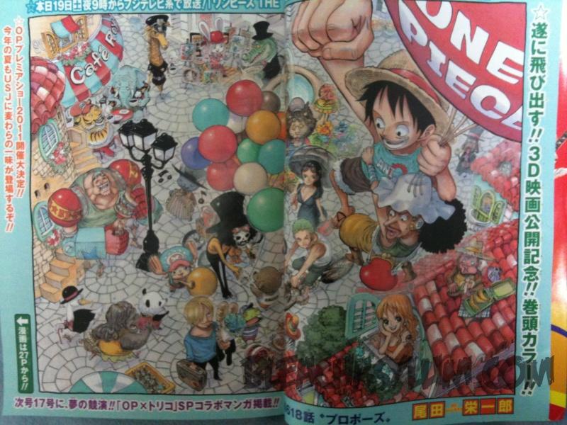 One Piece Manga 618 Spoiler Pics 28642810