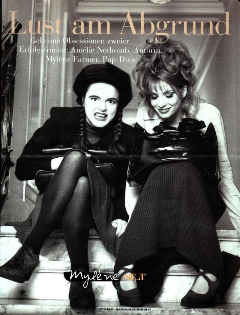 Vogue allemand (mars 1996) Mylene10